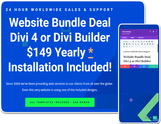 Website Bundle Deal – The Process